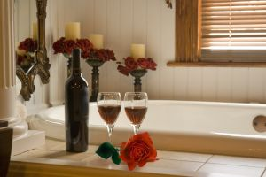 różana kąpiel